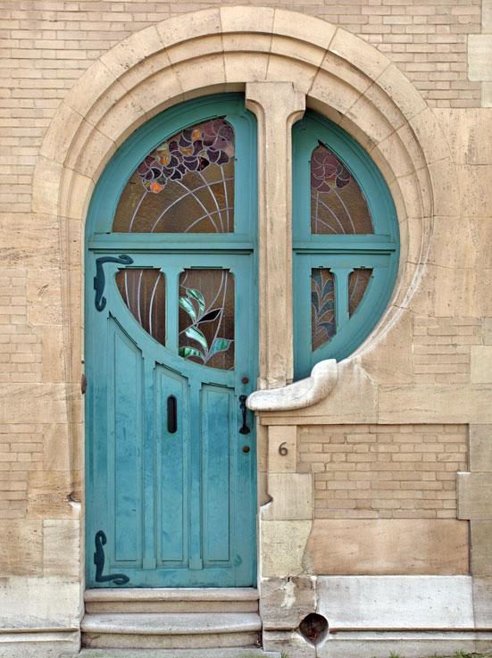 Jugendstil - Art Nouveau - Vinduer - D?rer - Glass - Dekor